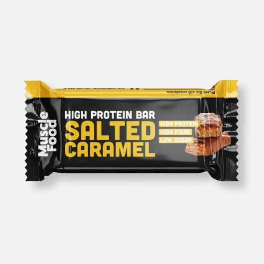 Musclefood Salted Caramel High Protein Bar 45g