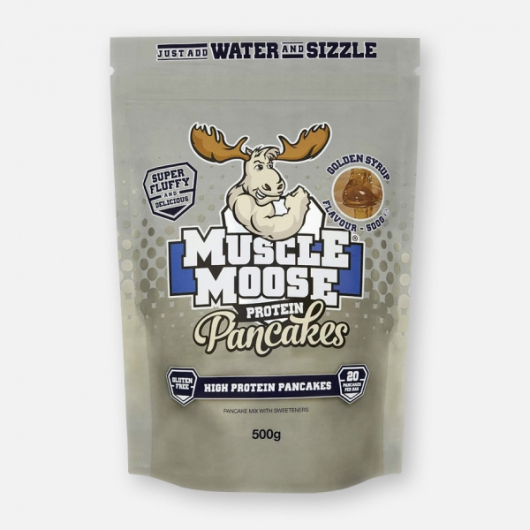 Muscle Moose Protein Pancakes - Golden Syrup 500g