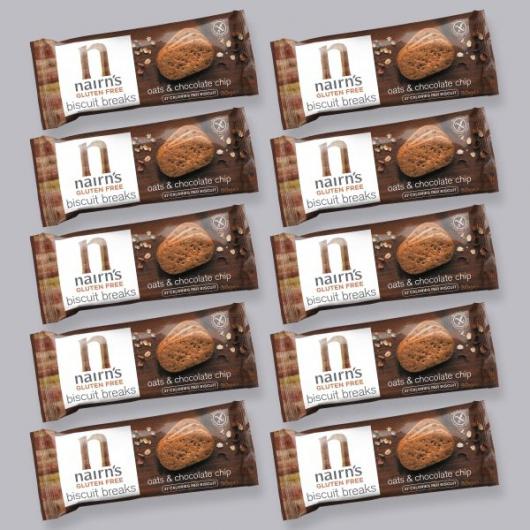 Gluten Free Biscuit Break Choc Chip Portion Pack 30g MF_SN1237