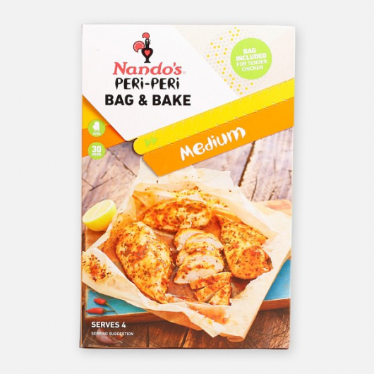 Nando's Medium PERi-PERi Bag & Bake 20g