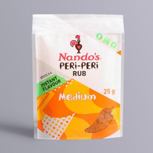 Nando's PERi PERi Rub - Medium - 25g Sachet