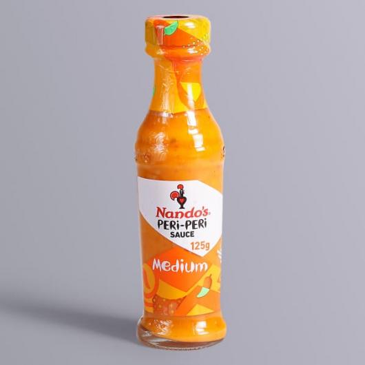 Nando's Peri Peri Sauce - Medium-125g Bottle