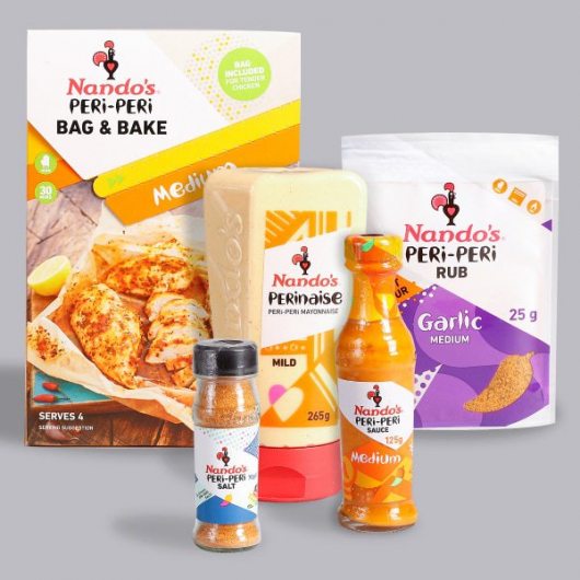 Nando's Sauce & Seasoning Selection - Medium