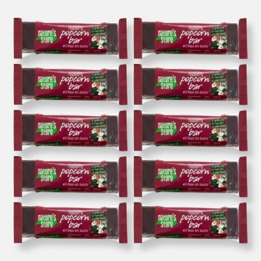 Nature's Store Dark Chocolate & Raspberry Popcorn Bar MF_SN1220