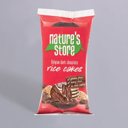 Nature's Store Dark Chocolate Rice Cakes MF_SN1223