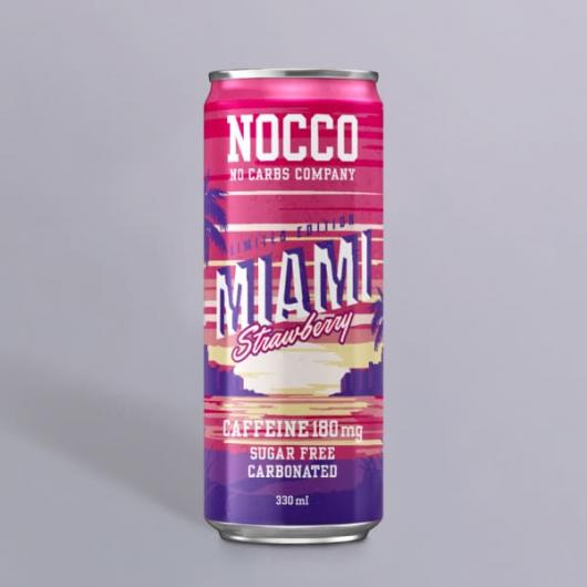 Nocco BCAA Drink - Miami Strawberry