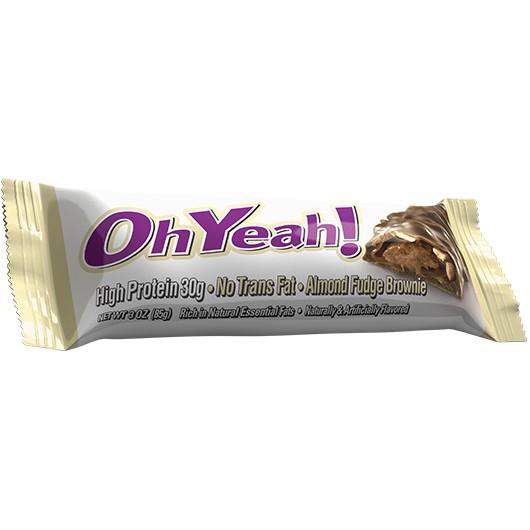 Oh Yeah! Bar - Almond Fudge Brownie
