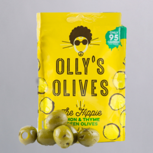 Olly's Olives Snack Pouches - Lemon & Thyme - MF_SN566