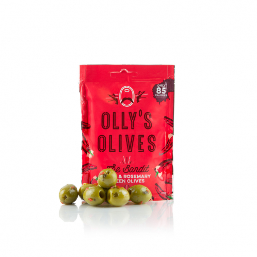 Olly's Olives Snack Pouches - Chilli & Rosemary - MF_SN564