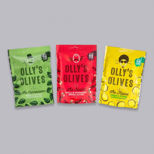 Olly's Olives Snack Pouches Mixed Bundle