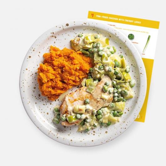 Pan-Fried Chicken with Creamy Leeks Recipe Kit