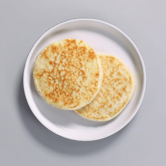 High Protein Ready To Eat Plain Pancakes - 2 x 50g