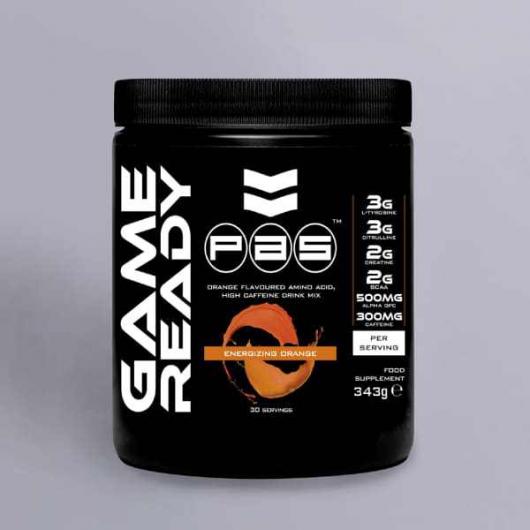 PAS Game Ready -  Pre Workout 343g