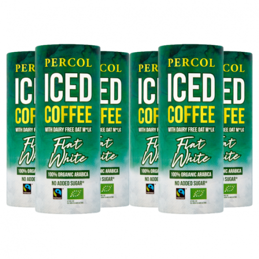 Percol Dairy Free Flat White Iced Coffee 6 X 230ml