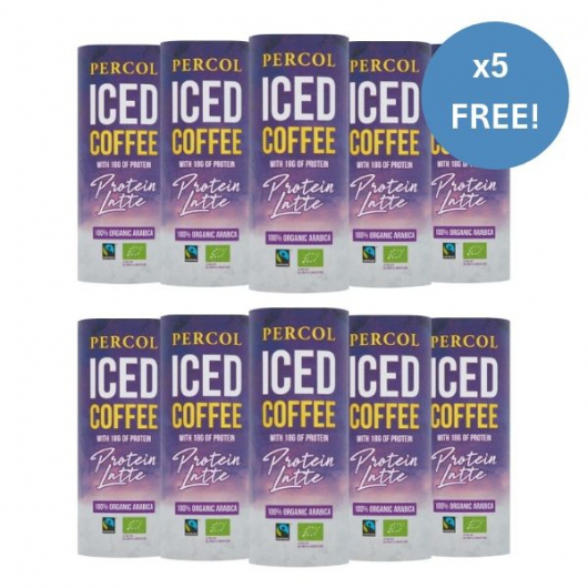 Percol Protein Coffee For A Week And Get 2nd Week Free