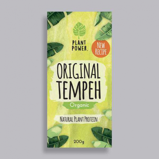 Plant Power Original Tempeh 200g