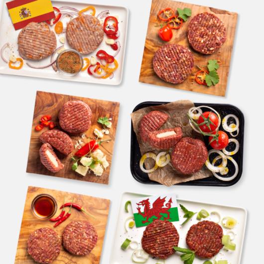 Burger Variety Bundle