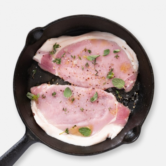 Pork Loin Steaks - 2 x 135g