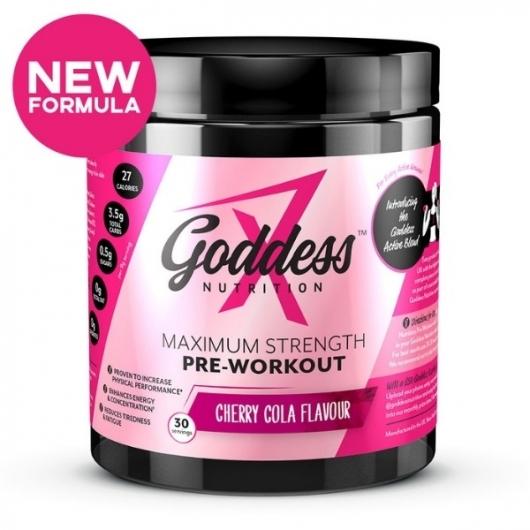 Goddess Nutrition Maximum Strength Pre Work Out - Cherry Cola