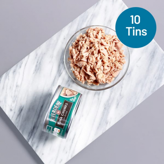 Prime Tuna Chunks in Brine - 10 x 185g