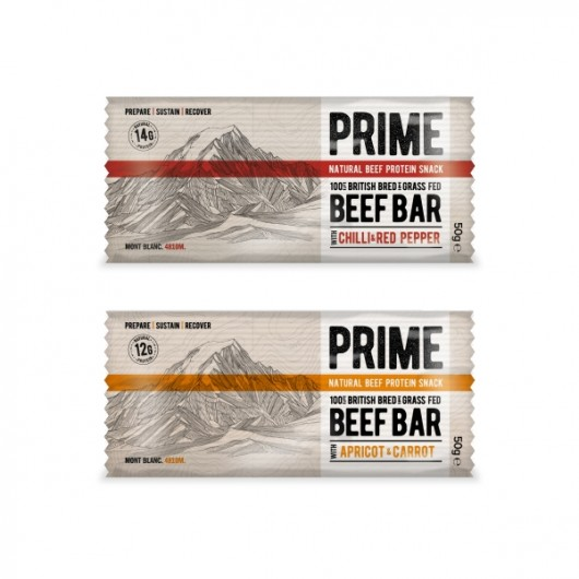 Prime Beef Protein Snacks