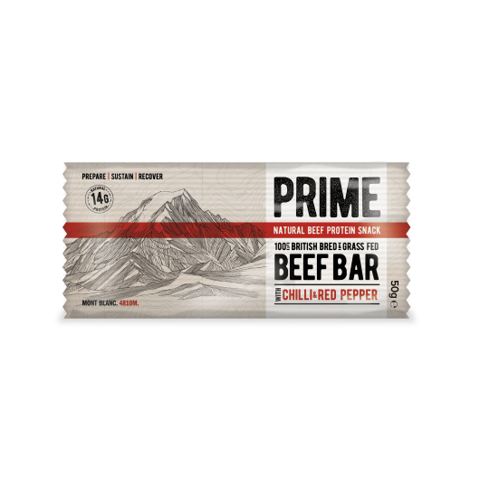 Prime Beef Bar Chilli & Red Pepper 50g
