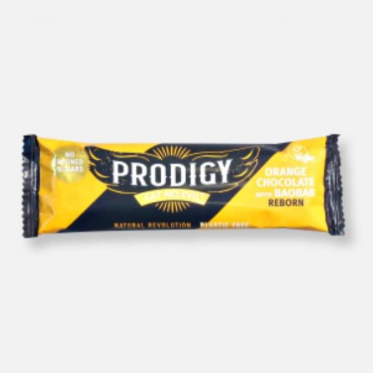 Prodigy Vegan Chunky Chocolate Orange Bar