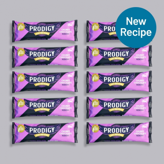 Prodigy Vegan Chunky Creamy Chocolate Bar 10 x 35g