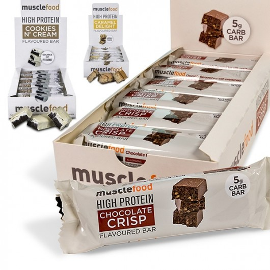 3 for 2 Muscle Food Protein Bars ****