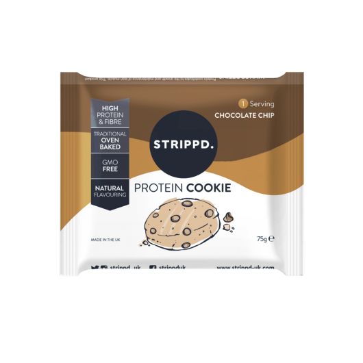 Strippd Protein Cookie Chocolate Chip 75g ****