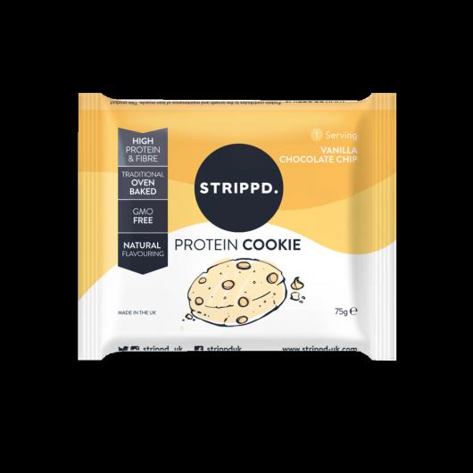 Strippd Protein Cookie Vanilla Chocolate Chip 75g ****