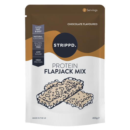 Strippd Protein Flapjack Mix Chocolate 400g
