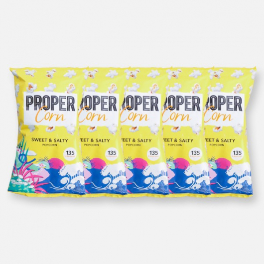 PROPERCORN - Sweet & Salty - 5 x 20g