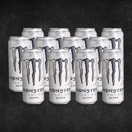 Monster Energy Ultra White - 12 x 500ml