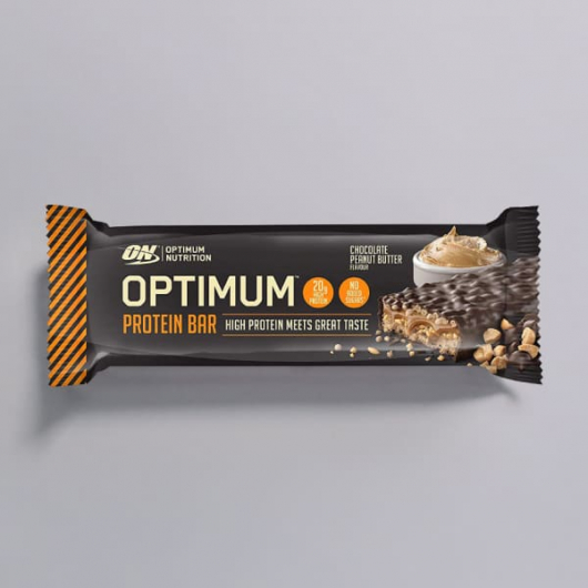 Chocolate Peanut Butter Optimum Protein Bars - 10 x 60g