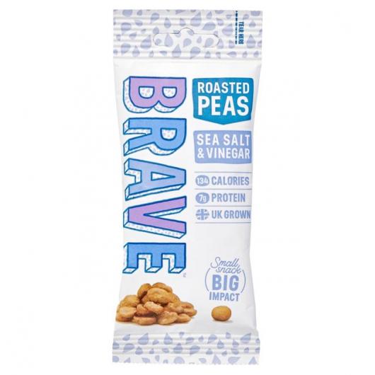 Roasted Pea Snack By Brave Salt and Vinegar