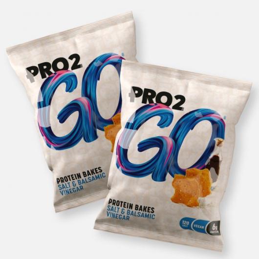 Sci MX Pro2Go Bakes - Salt & Balsamic Vinegar - 2 x 30g