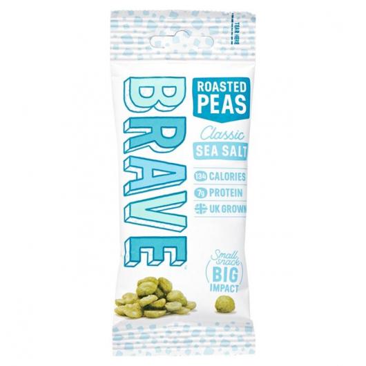 Roasted Pea Snack By Brave Sea Salt