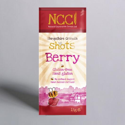 Shropshire Granola Shots - Berry 15g MF_BR210