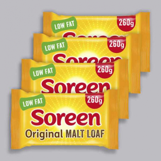 Soreen Malt Loaf 4 x 260g