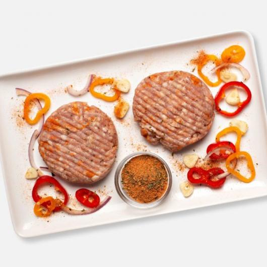 Spanish Style Pork and Chorizo Burgers 2 x 114g