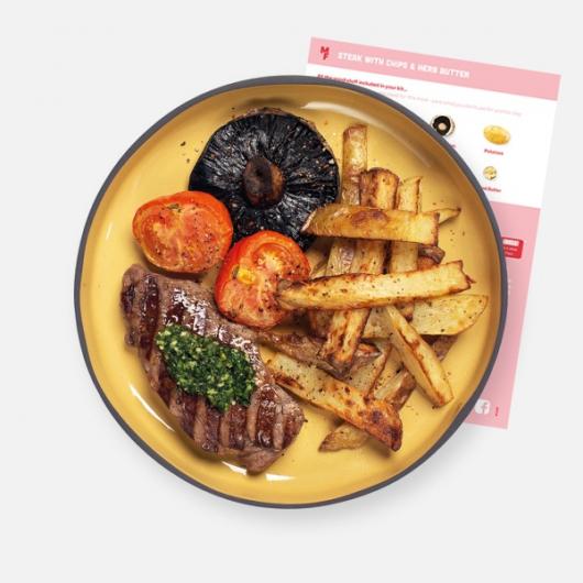 Steak, Chips & Herb Butter Recipe Kit