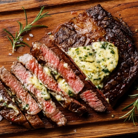 2 x The Heritage Range™ Rump Steaks with Peppercorn Butter