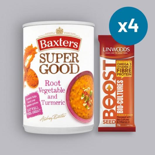 Super Food Root Vegetable and Turmeric Soup Bundle