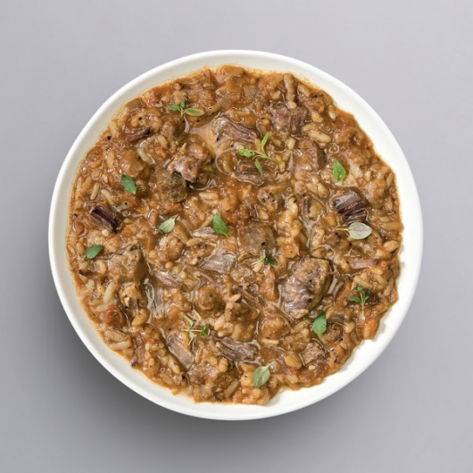 Tender Beef in Thyme with Rice - 39g Protein