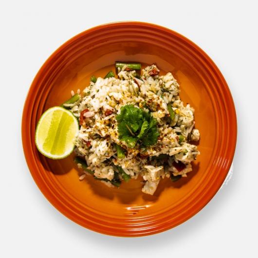 Thai Curry Chicken & Rice Pot