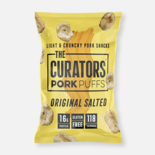 The Curators - Original Salted Pork Puffs 22g