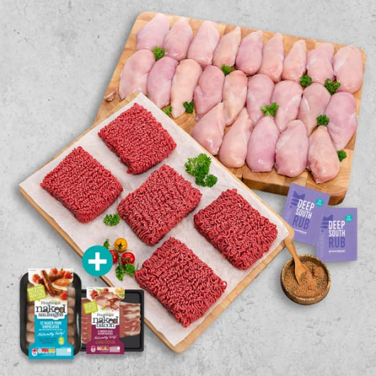 The Ultimate Chicken & Mince Selection