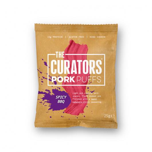 The Curators - Spicy BBQ Pork Puffs 25g