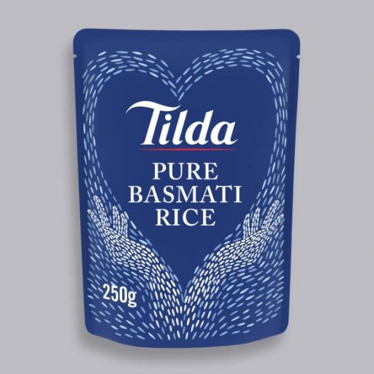 Tilda Microwave Pure Basmati Rice 250g